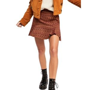 NWT Free People When In Rome Mini Skirt